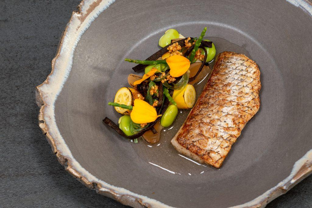 Adlerfisch | Quinoa | Edamame | Algen