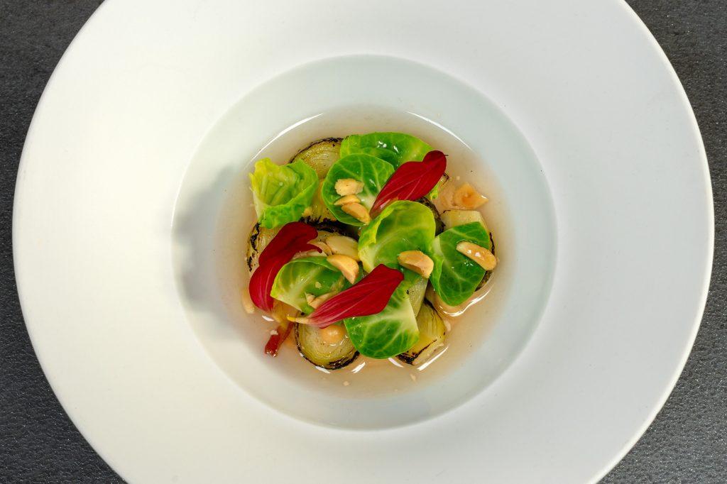 Rosenkohl | Erdnüsse | Zitronengras