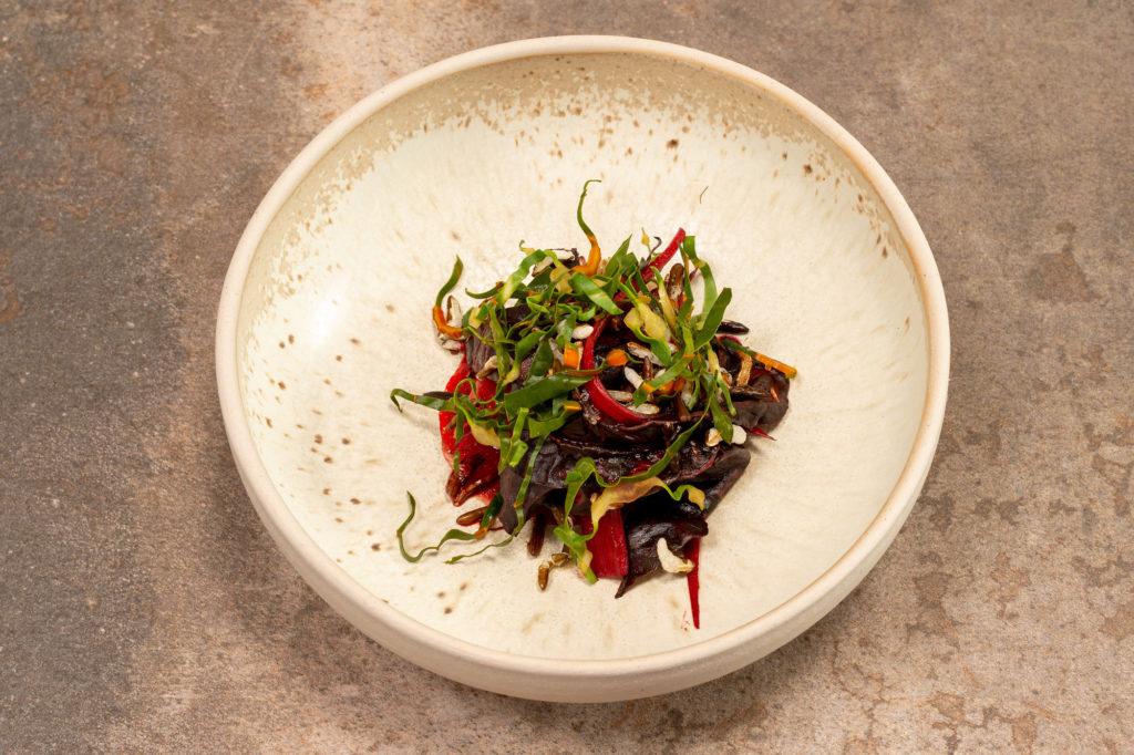 Mangold | Kimchi | Ei | Reis