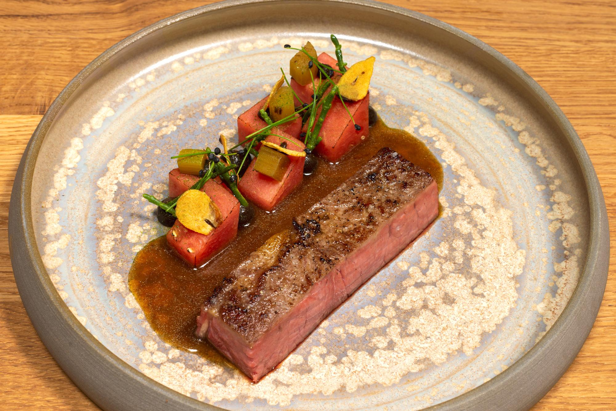 Roastbeef | Wassermelone | Knoblauch | Salicornes