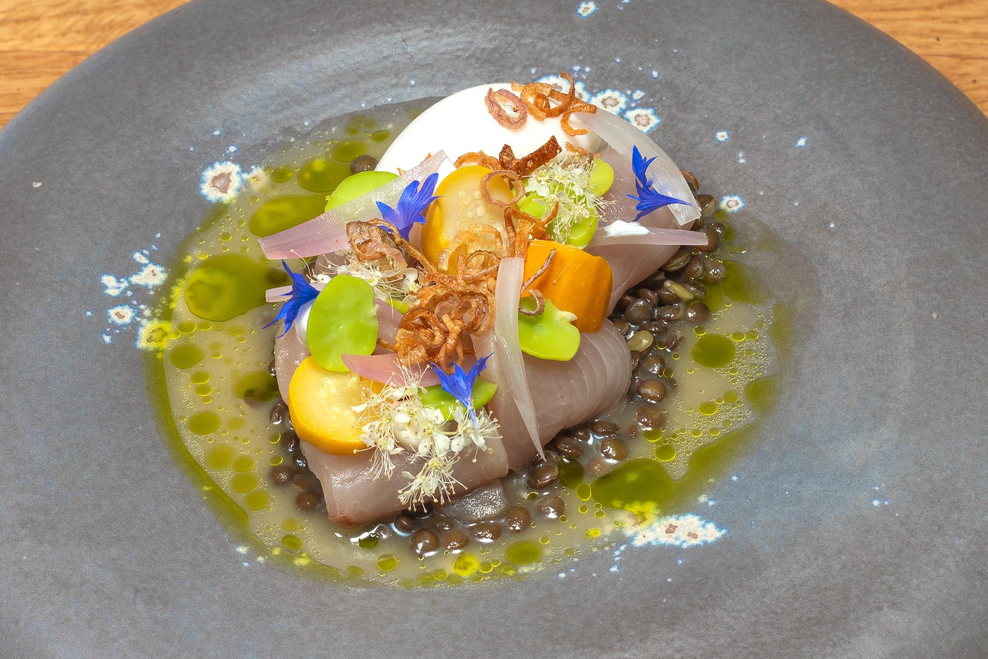 Hamachi | Beluga | Zucchini | Wasabi