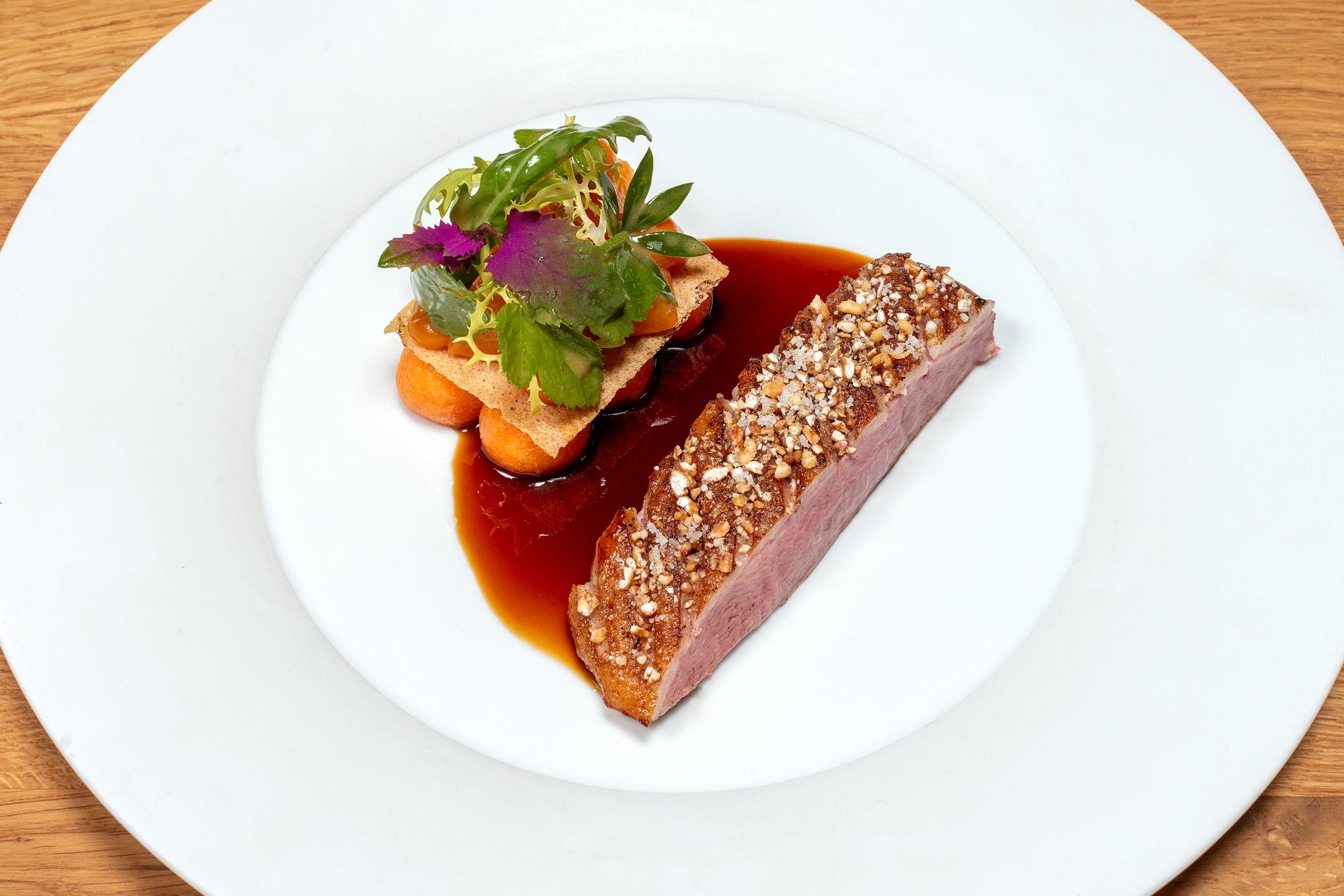 Pekingente | Aprikose | Süßkartoffel | Szechuan